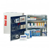 3 Shelf First Aid ANSI A+ Metal Cabinet, with Meds -  First Aid Only