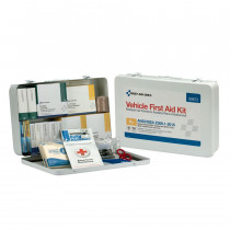 50 Person Vehicle ANSI A+ First Aid Kit, Metal Case -  First Aid Only
