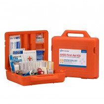 50 Person Weatherproof ANSI A+ First Aid Kit, Plastic Case -  First Aid Only