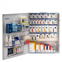 XL Metal Smart Compliance Food Service First Aid Cabinet without Meds, First Aid Only