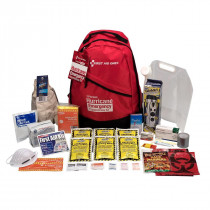 1 Person Emergency Preparedness Hurricane Backpack, First Aid Only