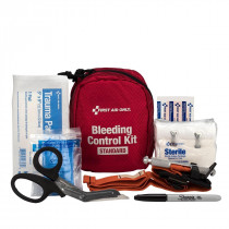 Bleeding Control Kit - Standard, Fabric Case, First Aid Only