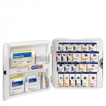 Smart Compliance Complete Cabinet ANSI A+ w/Meds, Plastic, First Aid Only