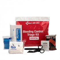 Bleeding Control Triage Kit - Essential, Plastic Bag, First Aid Only