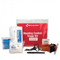 Bleeding Control  Triage Kit - Superior, Plastic Bag, First Aid Only