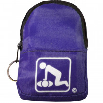 CPR Purple Belt/KeyChain BackPack: Shield-Gloves- - American CPR Training