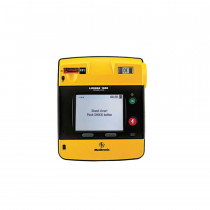 LIFEPAK 1000 defibrillator – Graphical Display, case, battery, electrodes - Physio-Control