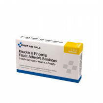Knuckle & Fingertip Bandage - Fabric - 9 Per Box - Pac-Kit by First Aid Only