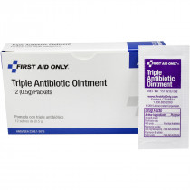 Triple Antibiotic Ointment - 10 Per Box - Pac-Kit by First Aid Only