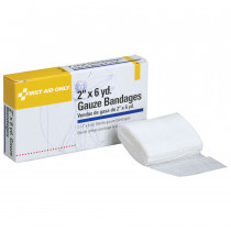 "Gauze Bandage - Sterile - 2""x6 yd. - 2 Per Box - Pac-Kit by First Aid Only"