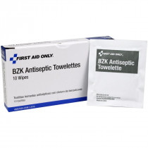 Antiseptic Cleansing Wipe (Sting Free) - 10 Per Box - Pac-Kit by First Aid Only