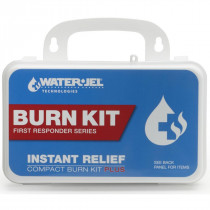Universal Burn First Aid Kit, Plastic, Water Jel