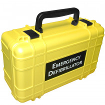 Deluxe Hard Carrying Case - Yellow - Defibtech