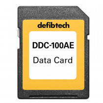 High Capacity Data Card (100-minutes, Audio) - Defibtech