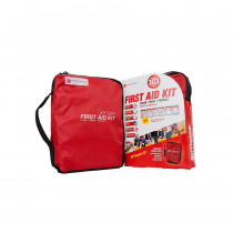 Genuine First Aid Kit Model 303 Red - 303 pieces - Genuine First Aid