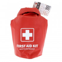 All Purpose First Aid Kit, Waterproof Dry Sack, Red, 100 Pieces, Sona