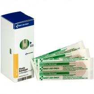 "1"" x 3"" Adhesive Bandages, 25 each - SmartTab EzRefill - SmartCompliance SmartTab ezRefill"