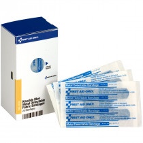 Knuckle Visible Blue Metal Detectable Bandages, 20 each - SmartTab EzRefill - SmartCompliance SmartTab ezRefill