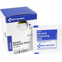 Alcohol Cleansing Wipes, 20 Each - SmartTab EzRefill - SmartCompliance SmartTab ezRefill