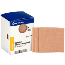 "2"" X 2"" Moleskin Blister Prevention, 20 Per Box - SmartTab EzRefill - SmartCompliance"