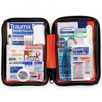 Outdoor First Aid Kit, Softsided, 107 Pieces - Small - First Aid Only