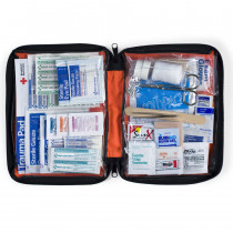 205 Piece Outdoor Kit, Large Softsided Case - 1 Each - First Aid Only