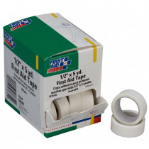 "First Aid Tape - 1/2"" x 5 yd. - 20 Per Box - First Aid Only"