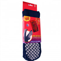Slipper Sock w/ Warmers - Medium, 1 Pair - Heat Factory