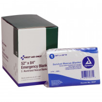 Emergency Blanket - 5 Per Box - First Aid Only