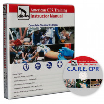 Instructor Manual w/ C.A.R.E DVD - American CPR Training