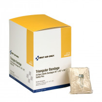 Case of Triangular Sling Bandages with 2 Safety Pins