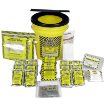 Economy Emergency Kit  - 2 Person - Honey Bucket - Mayday
