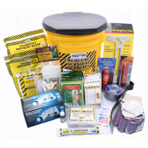4 Person Deluxe Emergency Honey Bucket Kit - Mayday
