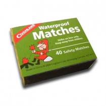 Waterproof Matches Box of 40 - Stansport