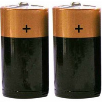 D Size Batteries 1 Pair - Mayday
