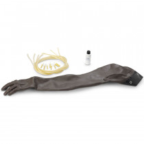 Advanced Injection Arm: Skin and Vein Replacement Kit - Black - LifeForm
