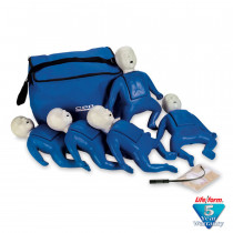 CPR Prompt 5-Pack Infant Training Manikin - Blue - CPR Prompt