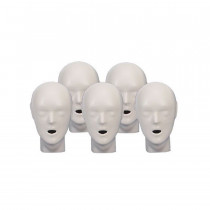 CPR Prompt 5-pack Adult/Child Heads - Tan - CPR Prompt