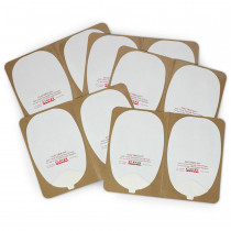 Skin Electrode Peel-Off Pads - Philips Heartstream Style - CPR Prompt