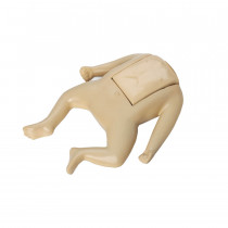 CPR Prompt Coated Infant Manikin Assembly - Tan - CPR Prompt