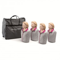 Little Anne QCPR - Adult CPR Manikin - 4 Pack - Laerdal