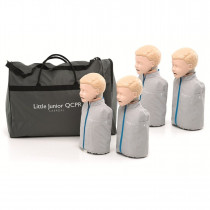 Little Junior QCPR - Child CPR Manikin - 4 Pack - Laerdal