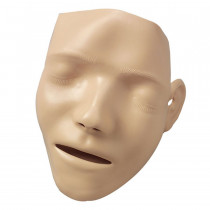 Resusci Anne / Little Anne - Adult Manikin Faces - 6 Per Pack - Laerdal