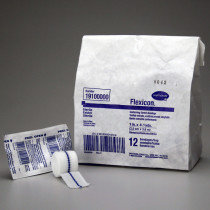 "Conforming Gauze Roll Bandage, Sterile 1"" - 12 Per Bag - Value Brand"