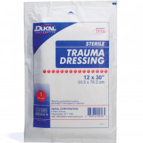 "Multi-Trauma Dressing, 12""x30"" - 25 Per Case - Dukal"