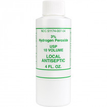 Hydrogen Peroxide 3%, 4 oz. - 1 Each - Medi Choice