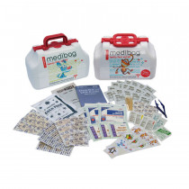 MediBag by Me4Kidz - Family First Aid Kit  - 117 Pieces - MediBag