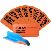 Sam Finger Splint, Reusable, 10 Per Pack - Sam Splint
