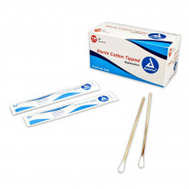 "Cotton Tipped Applicator - Sterile - 6"" - 200 Per Box - Dukal"