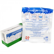 "4"" x 5"" Instant Cold Compress, Boxed, Urgent First Aid"